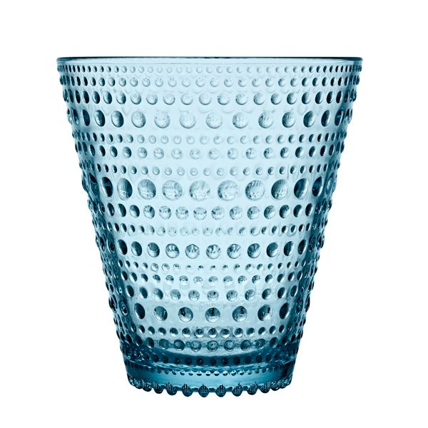 Kastehelmi tumbler 2 pcs, light blue, by Iittala.
