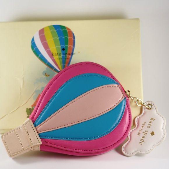 kate spade Handbags - Kate Spade ot Air Balloon Leather Coin Purse Case