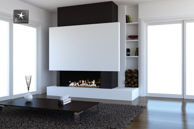 Cheminée Design avec foyer bois M Design wwwatredesignfr