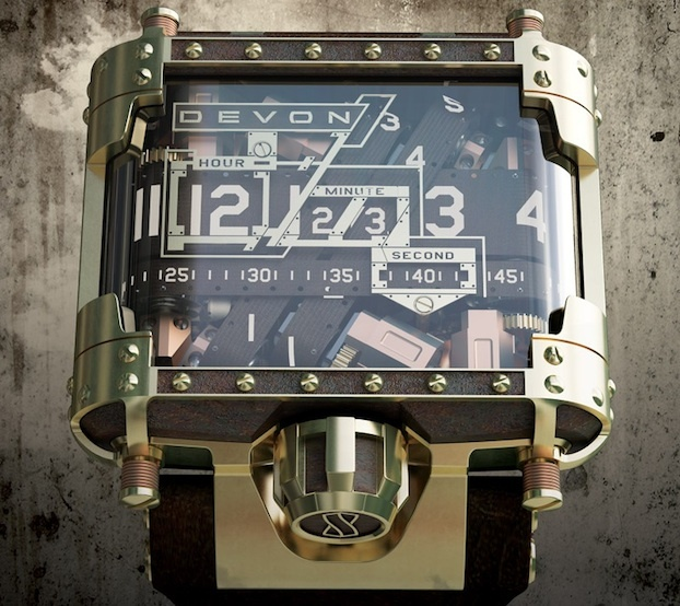 This Belt-Driven Beauty Is the Ultimate Steampunk Wristwatch : Discovery Channel