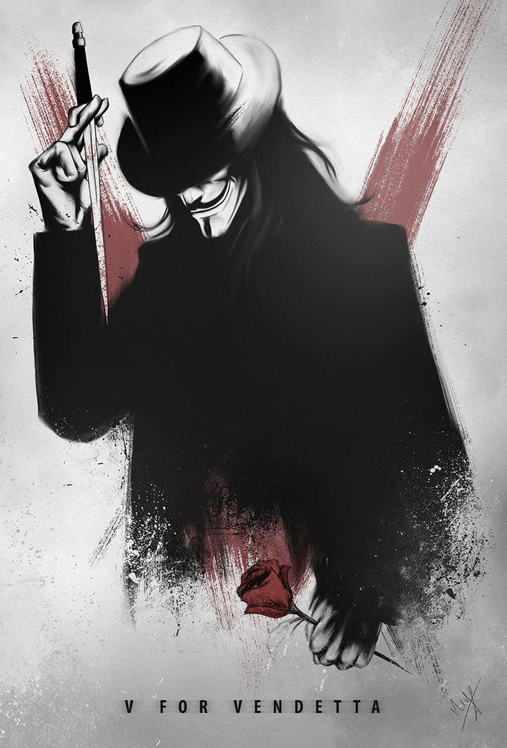 V for Vendetta by Nimesh Niyomal