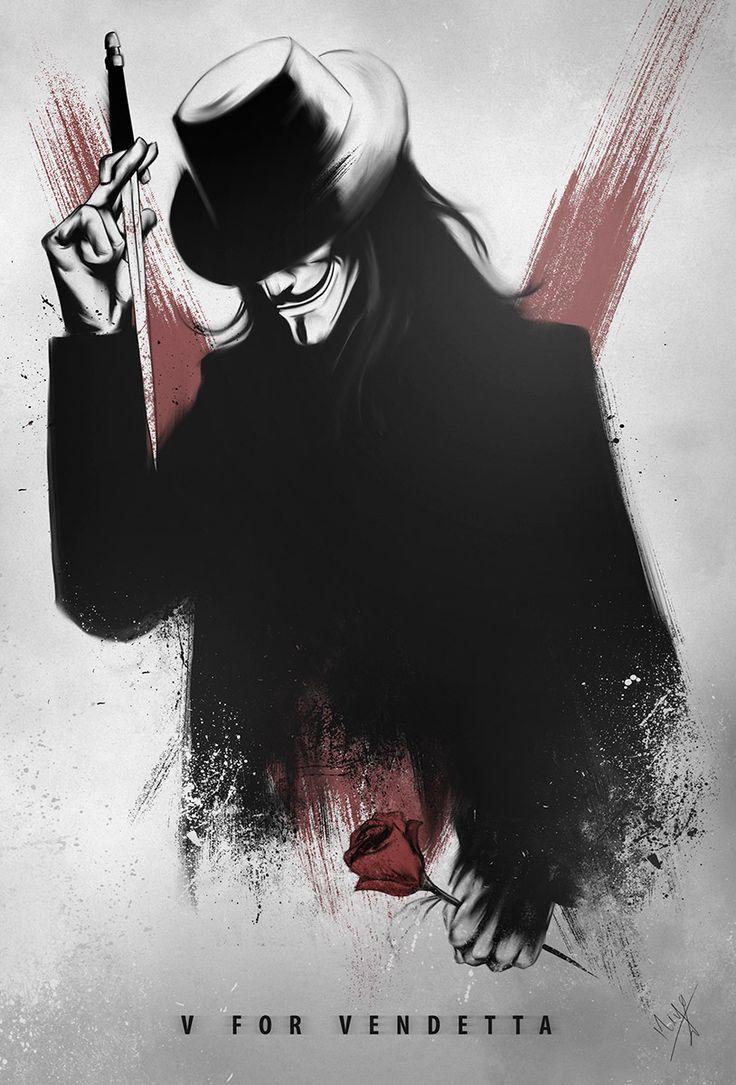 V for Vendetta by Nimesh Niyomal