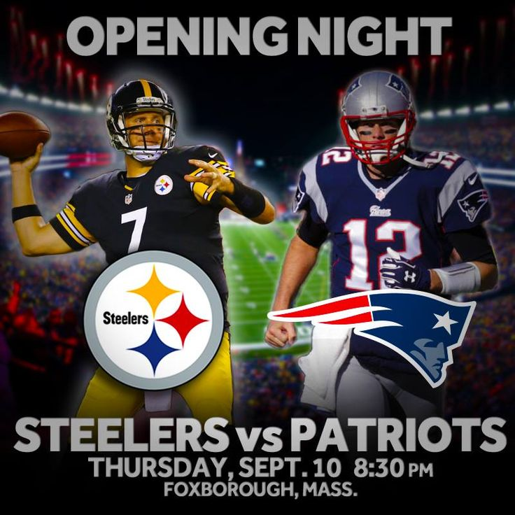 The New England Patriots will open the 2015 NFL Season at home against The Pittsburgh Steelers. Full schedule --> http://on.wcvb.com/1yPR0SM