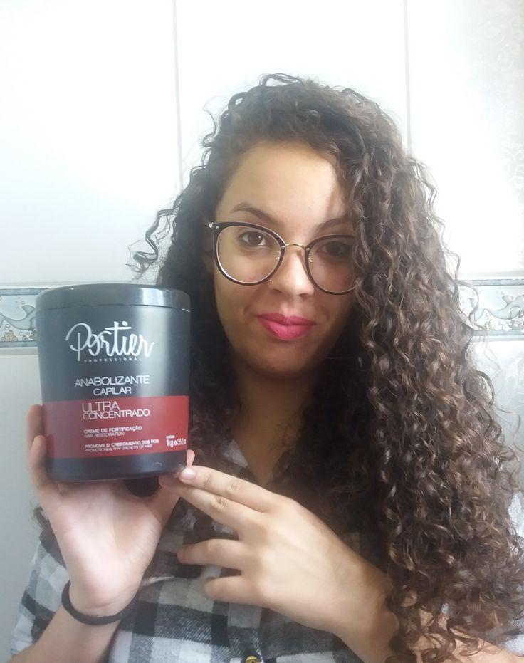 Olhem como ficou o cabelo da Mari com o Anabolizante capilar da Portier!  Super lindo! Leia mais: http://www.mulherzinhassa.com.br/2017/06/16/anabolizante-capilar-portier/