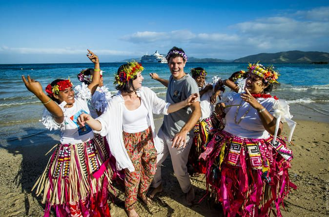 8-Day Remote Northern Four Cultures Discovery Cruise Circumnavigate Vanua Levu – Fiji's second's largest island - and explore the islands, rivers and rainforests of the remote north on this 7-night discovery cruise. On the way discover the four different cultures of Fiji; the Ellice Islanders, Banabas, Indian and Fijian people. Go in search of gentle manta rays in their natural hatchery and snorkel on the world's third longest barrier reef. Travel by tender up the Labasa River...