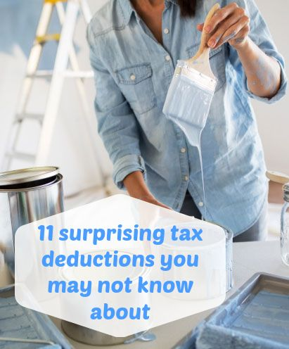 Tax Tips: 11 Surprising Tax Deductions You May Not Know About (they Could  Save