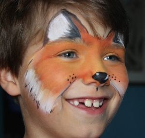 Fox Face Painting by Absolutely Painted Faces