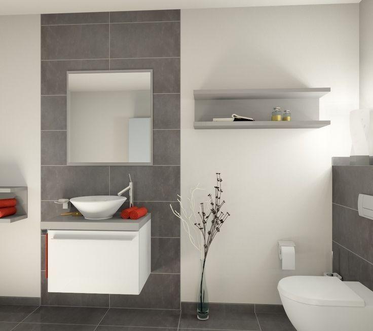 Gäste Wc Graue Fliesen 109 best gäste wc images on bathroom half bathrooms and