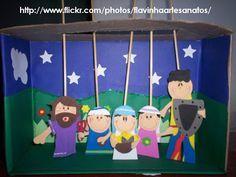 ♥ Ministério com Crianças ♥: Cenário para histórias bíblicas