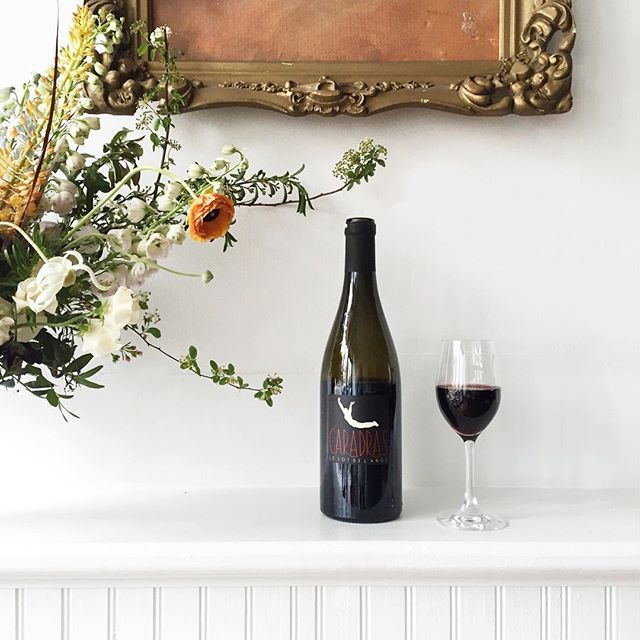 New wine, new cheese, new flowers, new weekend.  Come on by! This Cab Franc from Le Sot de L'Ange is ✨. #brunettewinebar #kingstonny #vinnature #vinnaturel #naturalwine