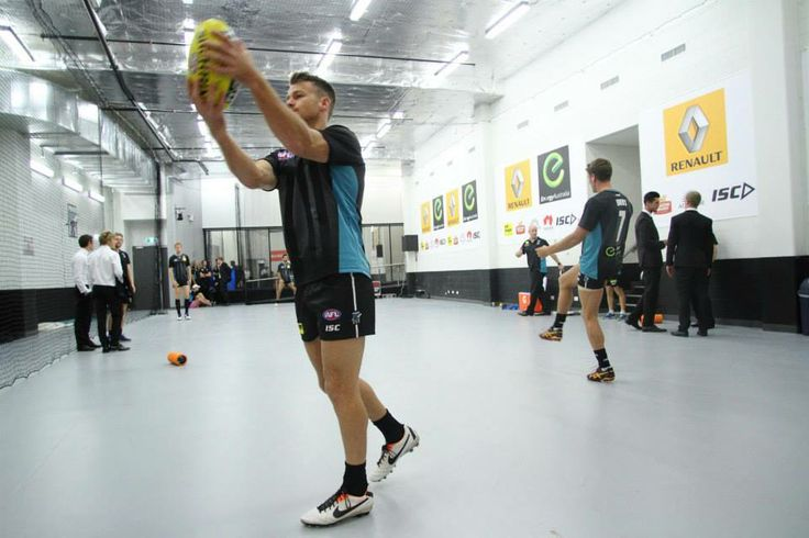 Warm up Port Adelaide Football Club Robbie Gray