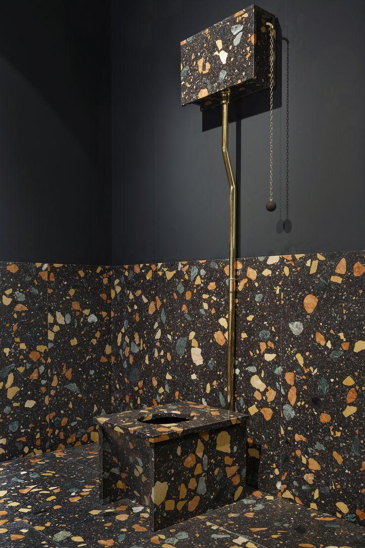 Max Lamb for Dzek - Marmoreal, Bathroom, Furniture @Design Miami/ Basel, 2015