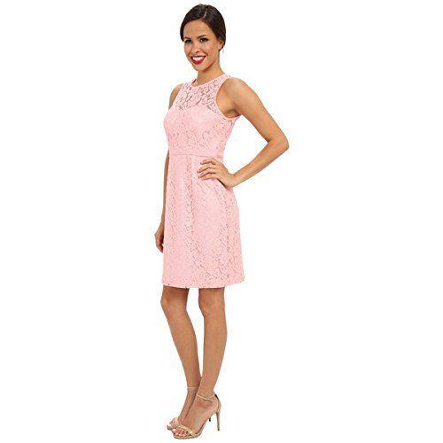 (ドナモーガン) Donna Morgan レディース ドレス カジュアルドレス Illusion Neck Lace Short Dress 並行輸入品  新品【取り寄せ商品のため、お届けまでに2週間前後かかります。】 カラー:Cherry Blossom カラー:-