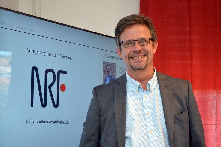 NRF Databasen har vært nr. 1 i 50 år, og vi har tenkt å beholde denne posisjonen også for fremtiden, understreker daglig leder Terje Røising.  (Foto: J. Kalvik) Norske Rørgrossisters forening (NRF) har blitt en betydelig mer synlig aktør i VVS/VA-bransjen, og legger store krefter inn på styrking av NRF Databasen. – Vi mener det er viktig at bransjen bruker en enhetlig, ikke-kommersiell varedatabase som gir dem all den informasjon de trenger, sier daglig leder i NRF, Terje Røising.