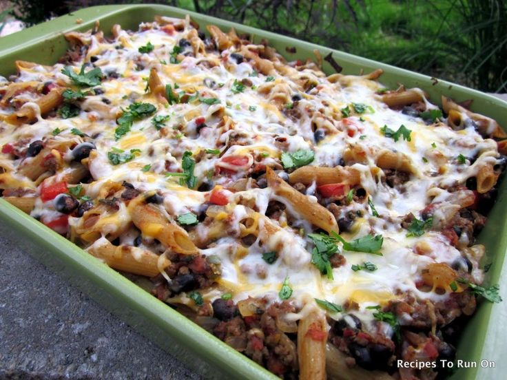 Not your everyday pasta...Mexican baked penne: Black Beans, Healthy Dinners, Ground Beef, Pasta Dishes, Penn Pasta, Mexicans Baking, Weights Watchers Recipes, Baking Mexicans, Baking Penn