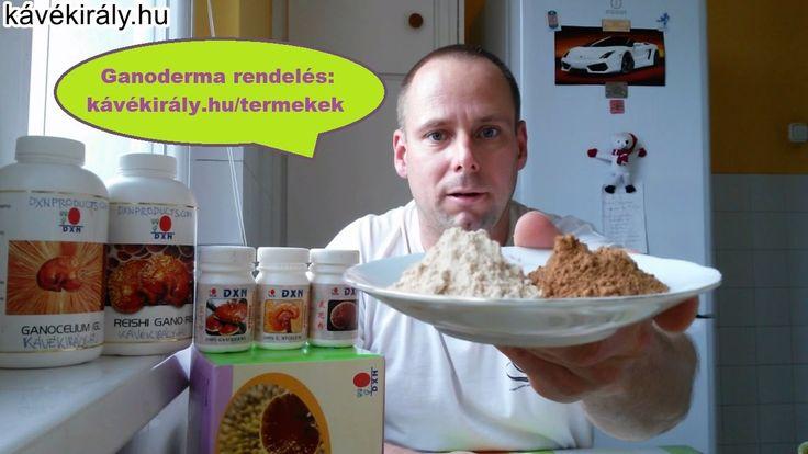 Ganoderma gyógygomba kivonatok a test méregtelenítésére és kiegyensúlyoz...