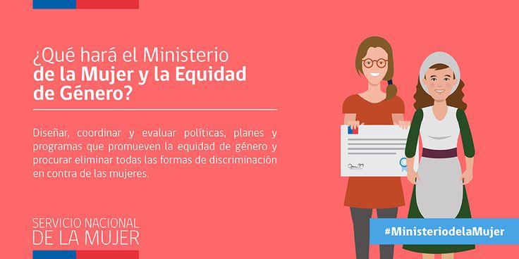 ¿Qué hará el Ministerio de la Mujer y la Equidad de Género?