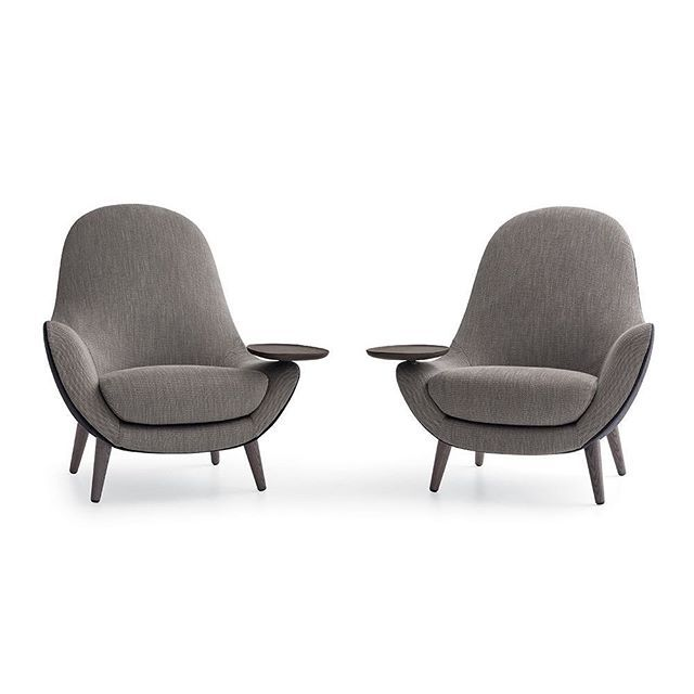 The King chair | Mad collection by @marcelwanders for @poliformusa