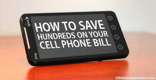 How To Save Hundreds On Your Cell Phone Bill By Using A No Contract Or Pre-Paid Phone Service