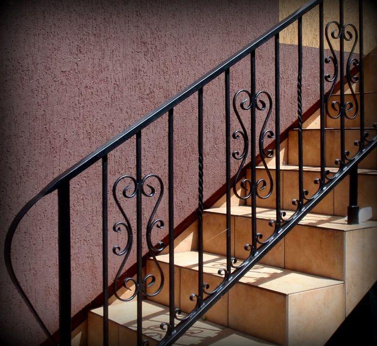 Poręcz na schody