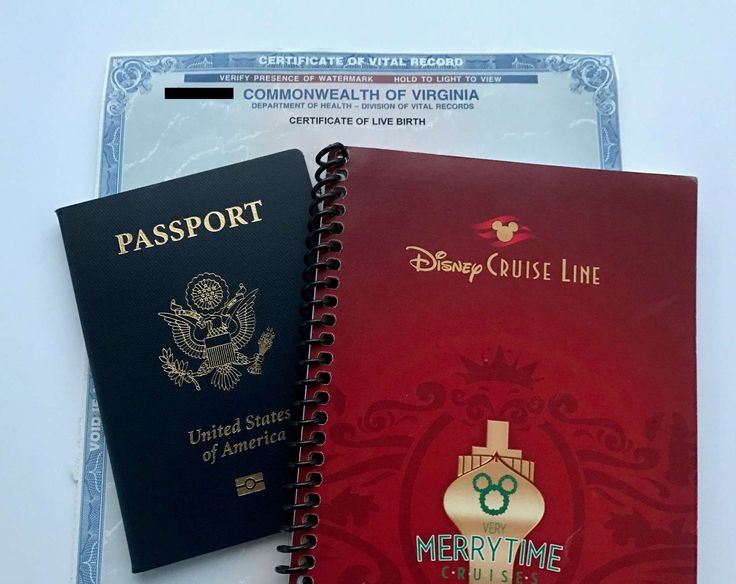 Do you need a passport for a Disney Cruise? Yes and no. It depends on your cruise. Here are the Disney Cruise Line required documents. We didn't have them.
