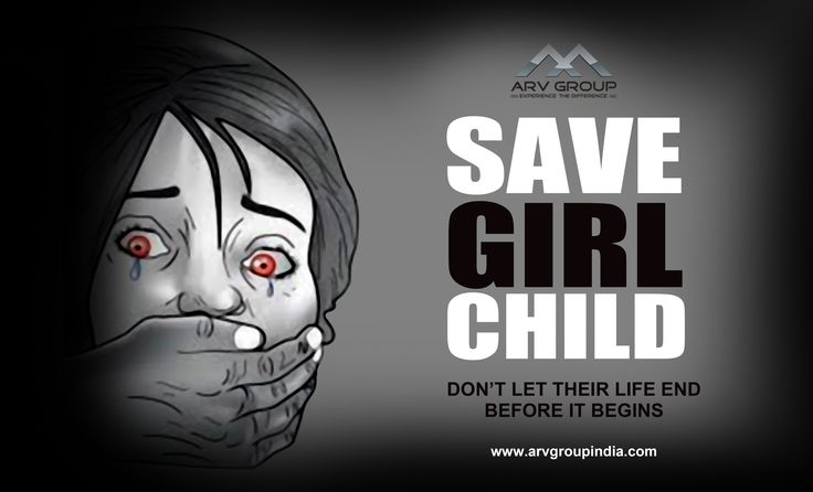 Care about them #Save #Girl #Child
