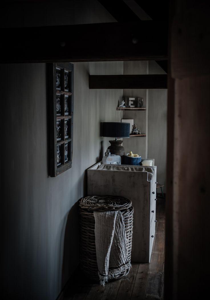 Landelijke babykamer met een beetje hoffz en leuke decoratie van baby s only en knit factory - Board deco kamer ...