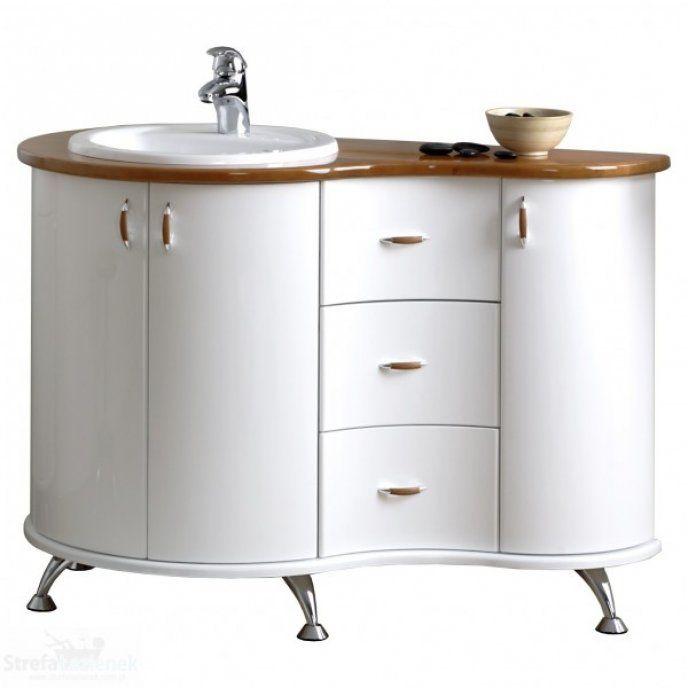 Antado Royal szafka pod umywalkę - Drzwi otwierane na prawo Olcha EG-387/1R/Bd - Sanit-Express™