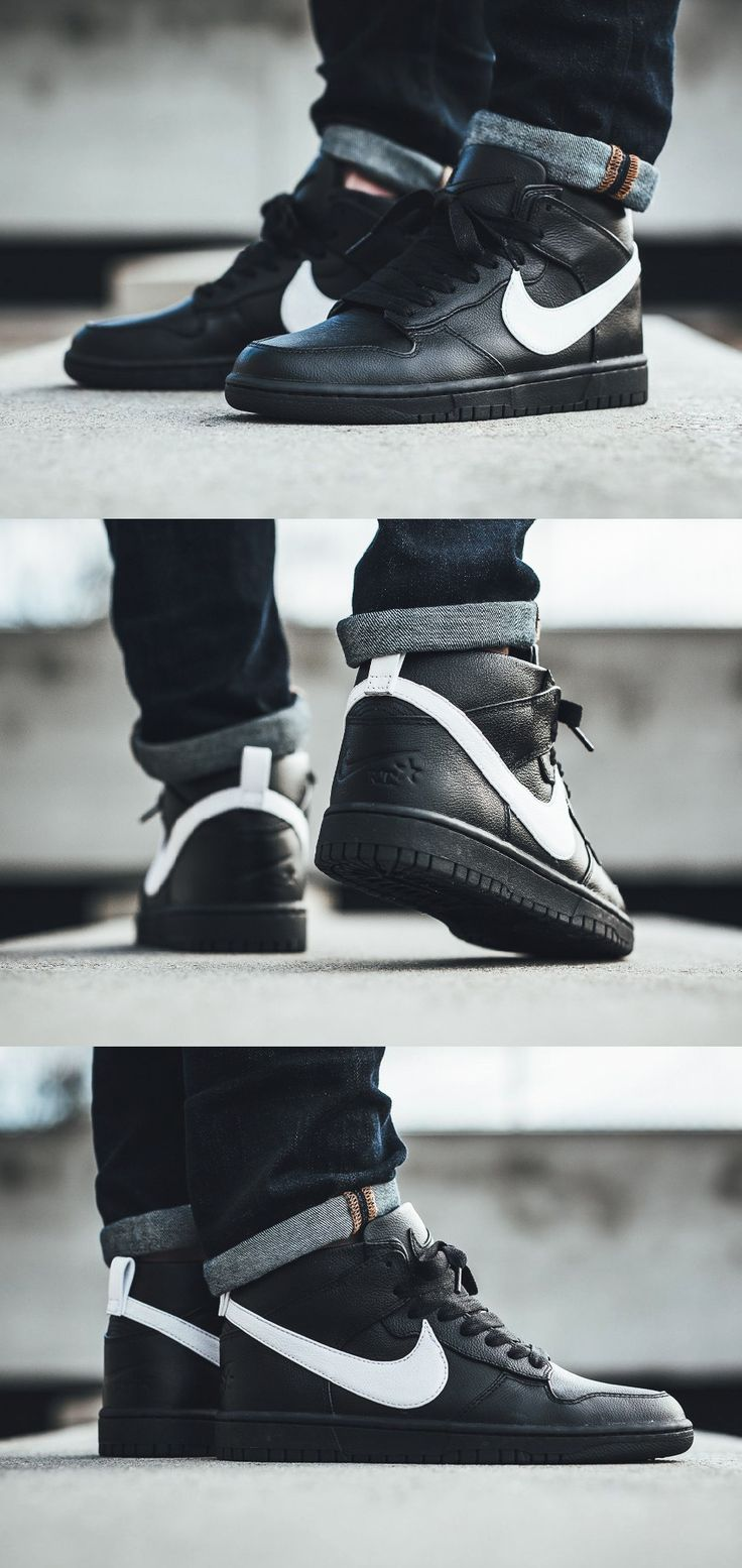 #Nike #Dunk #Lux #Chukka #Mid #Black'