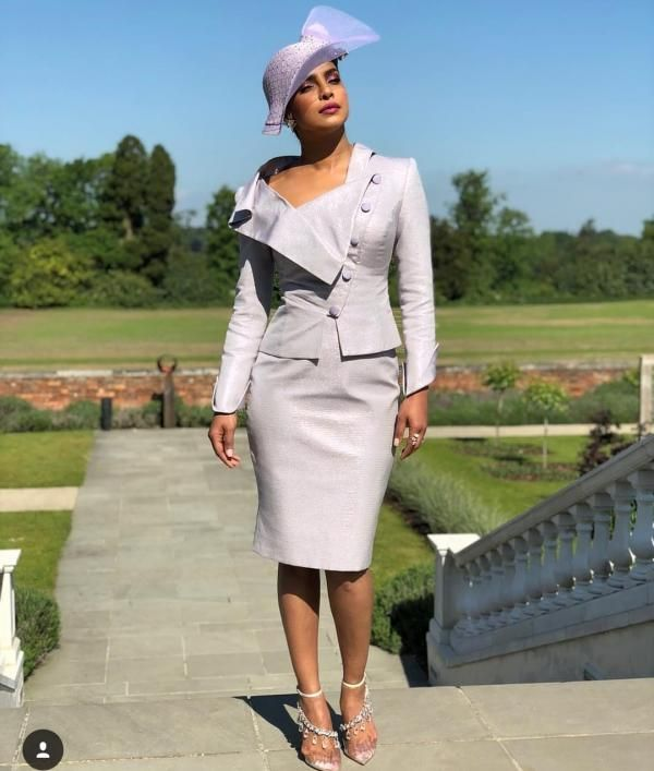 03e8bbf2863 Prince Harry and Meghan Markle s Royal Wedding  Priyanka Chopra attends  looking lovely in lavender