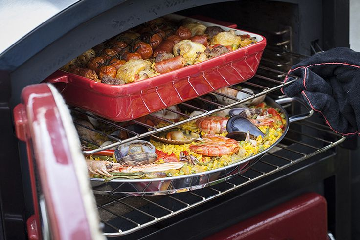 In this post, I'm going to show you how to prepapare a Paella Mixta stating of in the traditional manner witch is on a stovetop, outdoor burner or grill and then finishing up non-traditionally in the Fornetto and a second type of meat-lovers' Paella! Fornetto http://fornetto.com/blog/spains-iconic-paella/