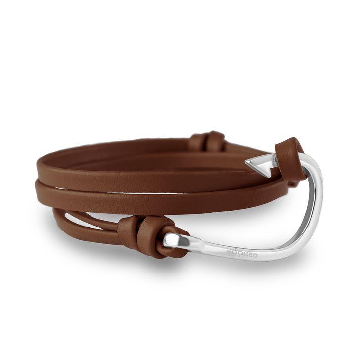 HSL3 - Dark brown leather