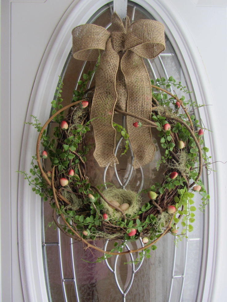 1000 Images About Easter Spring Wreaths On Pinterest