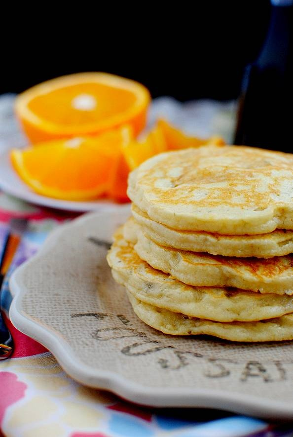 Banana Pancakes add vanilla, little less butter, and more flour opt ...