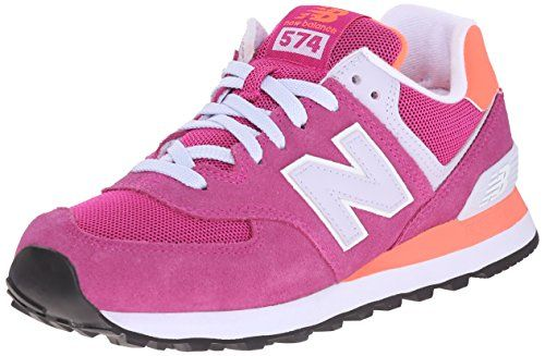 New Balance Damen WL574V1 Sneakers, Pink (Pink/Orange), 7.0 US - 37.5 EU - http://schmuckhaus.online/new-balance/7-0-us-37-5-eu-new-balance-damen-wl574v1-sneakers