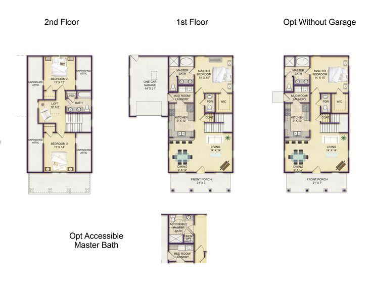 The Ansley Floor Plan: 17 Best Images About Waterside Villages Of Currituck