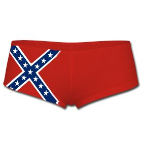 Southern Sisters Designs - Rebel Flag Red  Boy Short Panties By Southern Sisters, $11.95 (http://www.southernsistersdesigns.com/rebel-flag-red-boy-short-panties-by-southern-sisters/)