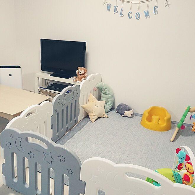 赤ちゃんのいる部屋 リビング 賃貸 2dkのインテリア実例 2018 06 02