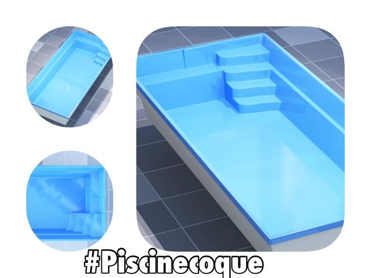 Les 25 meilleures id es de la cat gorie mini piscine coque for Piscine enterree coque