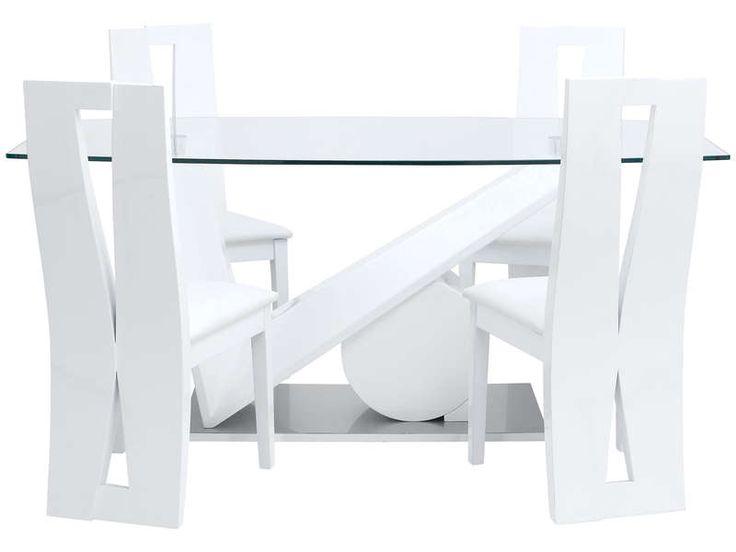 affordable table de cuisine conforama promo meubles pas cher achat table brook coloris blanc. Black Bedroom Furniture Sets. Home Design Ideas