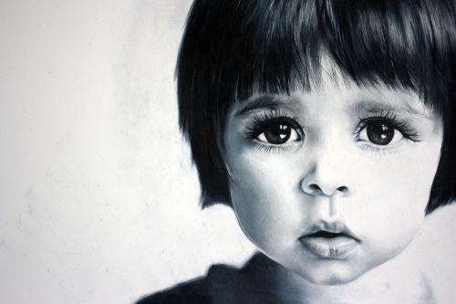 Uxbridge Ontario photorealism artist Sarah Holtby created this stunning portrait…