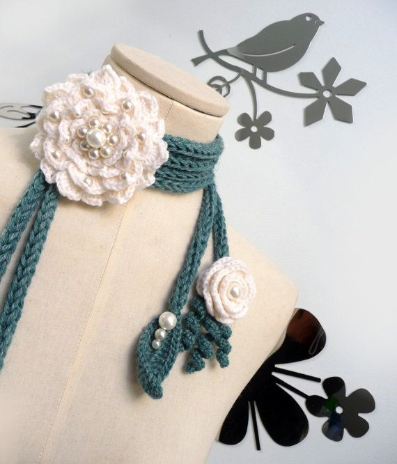 ao with <3 / Crochet Lariat Scarf