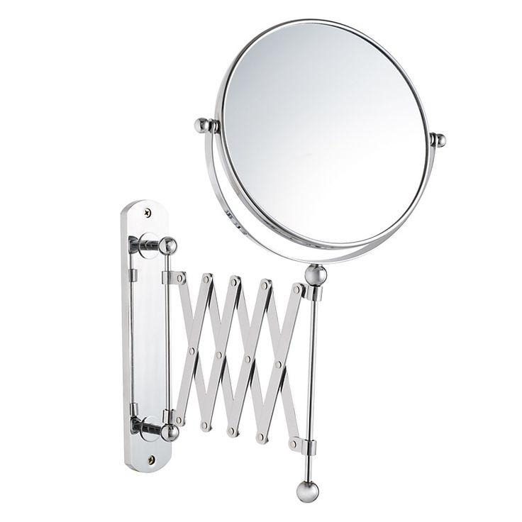 Buy John Lewis Bathroom Extendable Magnifying Wall Mirror online at John Lewis