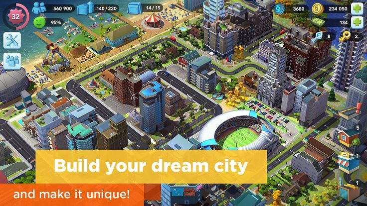 SimCity BuildIt v1.18.25.64478 (Mega Mod)   SimCity BuildIt v1.18.25.64478 (Mega Mod)Requirements:Android 3.0Overview:WELCOME MAYOR! Build your own beautiful bustling city where your citizens will thrive. The larger and more intricate your city gets the more needs your citizens have and its up to you to keep them happy. This is an all-new SimCity game  re-imagined for mobile!  BUILD YOUR CITY With countless buildings and vivid 3D-quality graphics this is the most realistic city builder on…