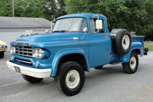 1959 Cummins Dodge Power Wagon 4x4