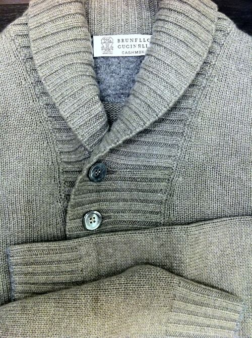 Brunello Cucinelli cashmere sweater