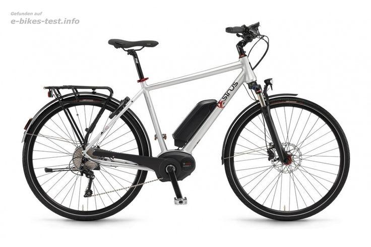 Sinus Ebike Fahrrad BT60 Herren 400Wh 28 Zoll 10-G Deore scotchbrite matt