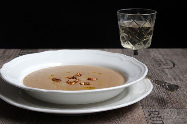 Maronen – Cremesuppe mit karamellisierten Maronen ♡