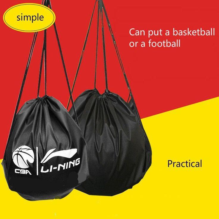 Full cloth bundle mouth basketball bag football bag gift basket ball sports outdoor Backpack Bag