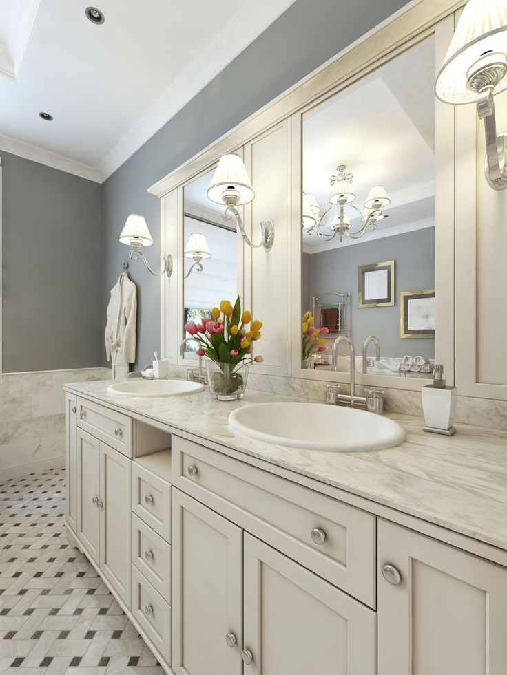 Vanity Lights Installed On Mirror : Strong but gentle light for your bathroom vanity is ideal. Do not make the mistake of installing ...